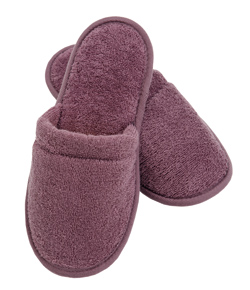 Terry Cotton Cloth Spa Slippers