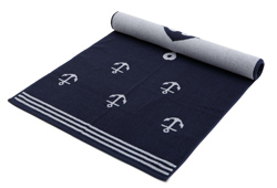 Jacquard Woven Terry Cotton Beach Towel